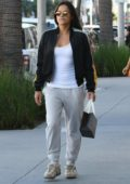 Michelle Rodriguez picks up some Eyewears at Morgenthal Frederics in Beverly Hills, Los Angeles