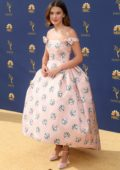 Millie Bobby Brown attends the 70th Primetime EMMY Awards (EMMYS 2018) at Microsoft Theater in Los Angeles
