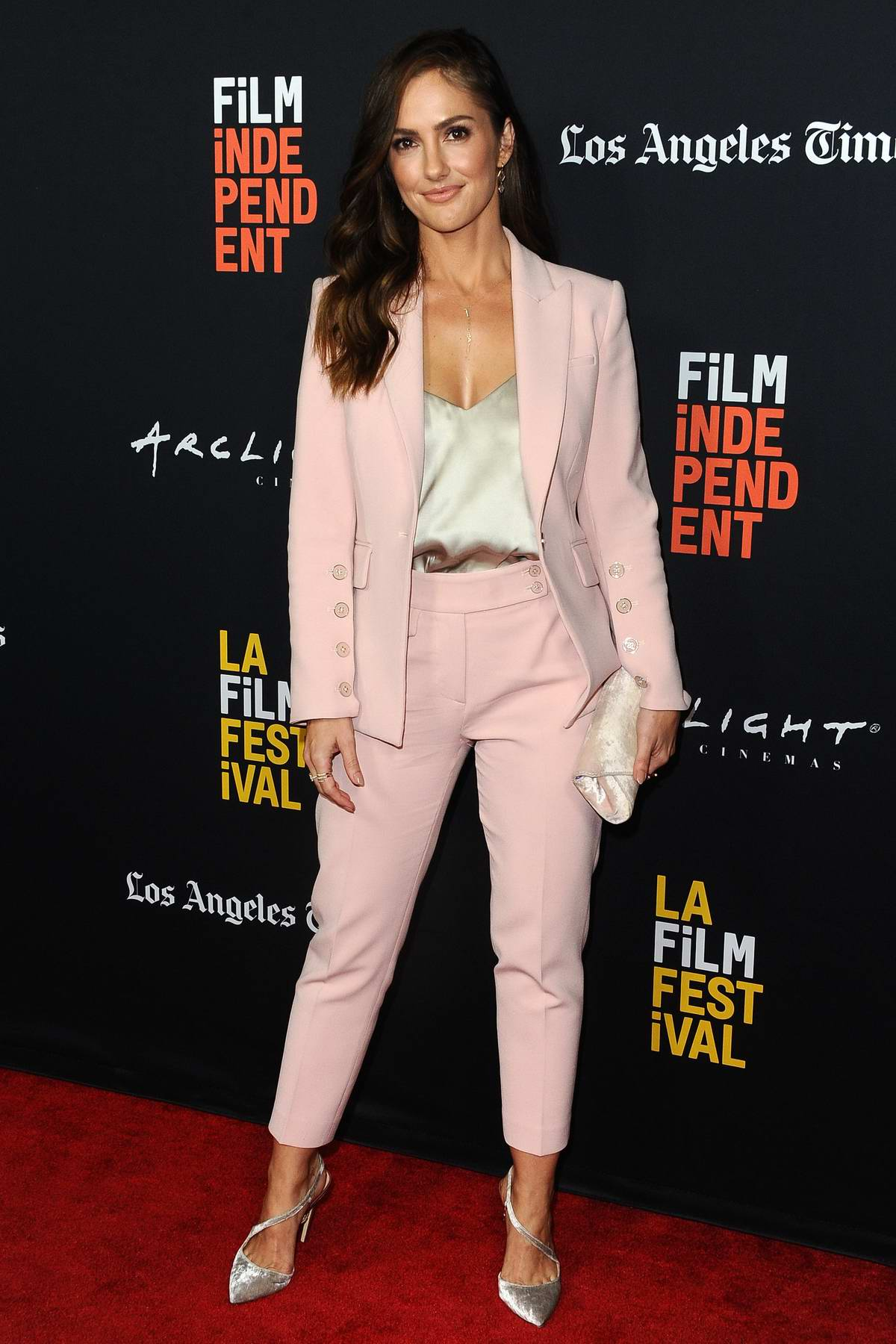 Minka Kelly attends Los Angeles Film Festival closing night premiere of 'Nomis' at the Arclight Theater in Los Angeles