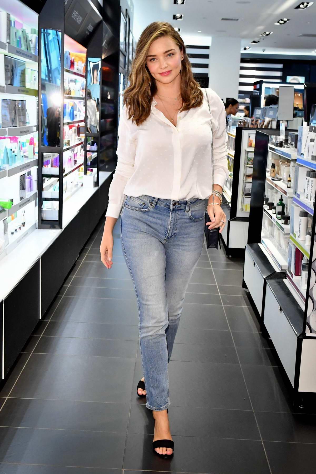 Miranda Kerr attends KORA Organics personal appearance at Sephora in Toronto, Canada