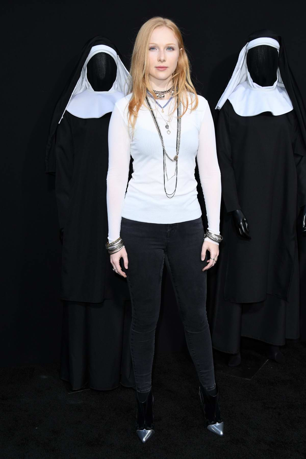 Molly Quinn attends 'The Nun' film premiere at TCL Chinese Theatre in Hollywood, Los Angeles