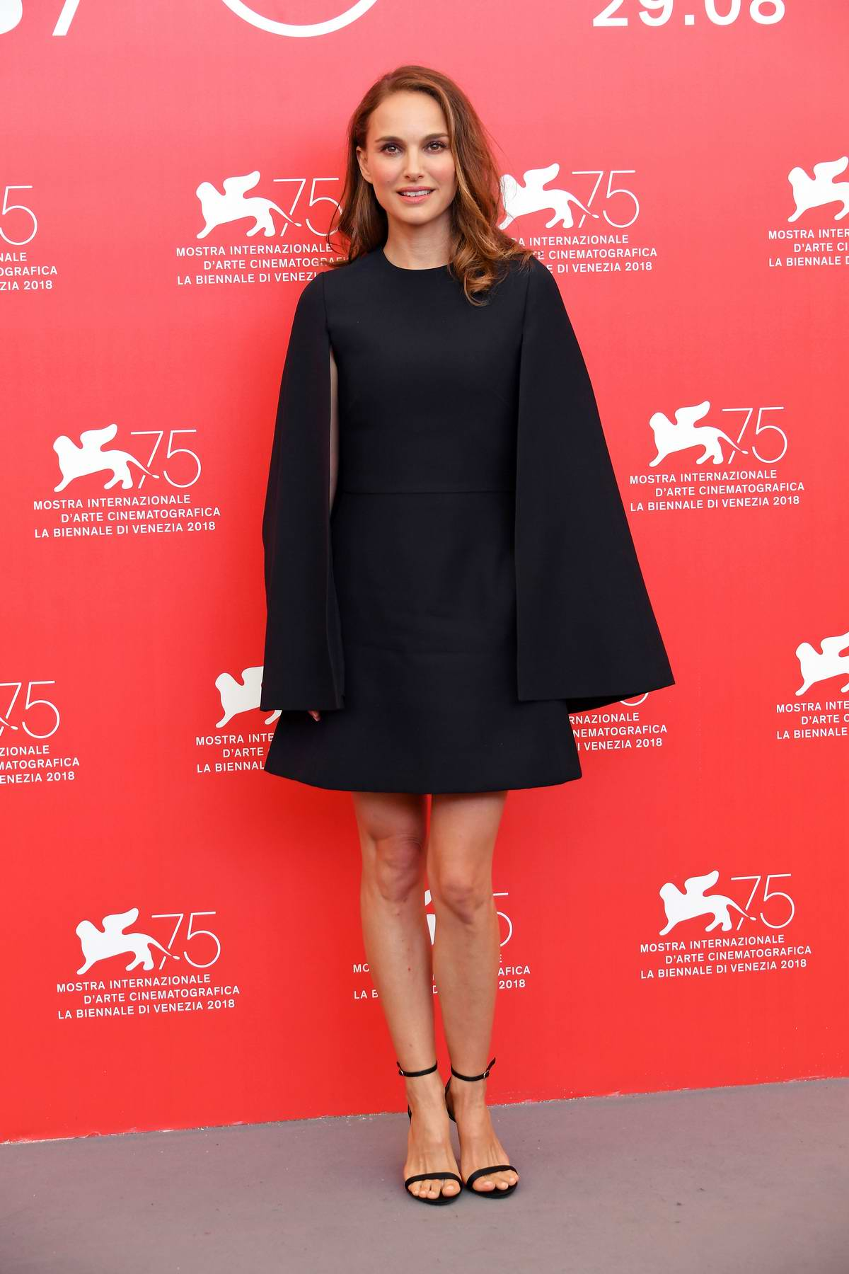Natalie Portman attends 'Vox Lux' photocall during 75th Venice Film Festival in Venice, Italy