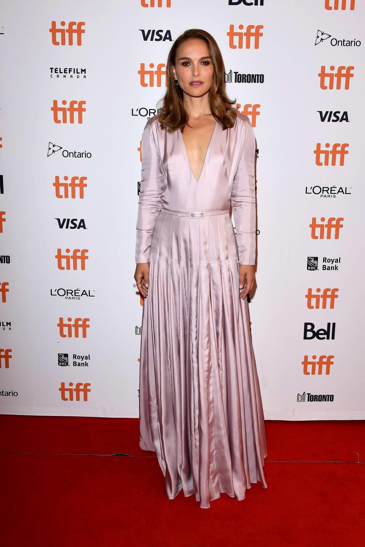 Natalie Portman attends 'Vox Lux' premiere during the Toronto International Film Festival (TIFF 2018) in Toronto, Canada
