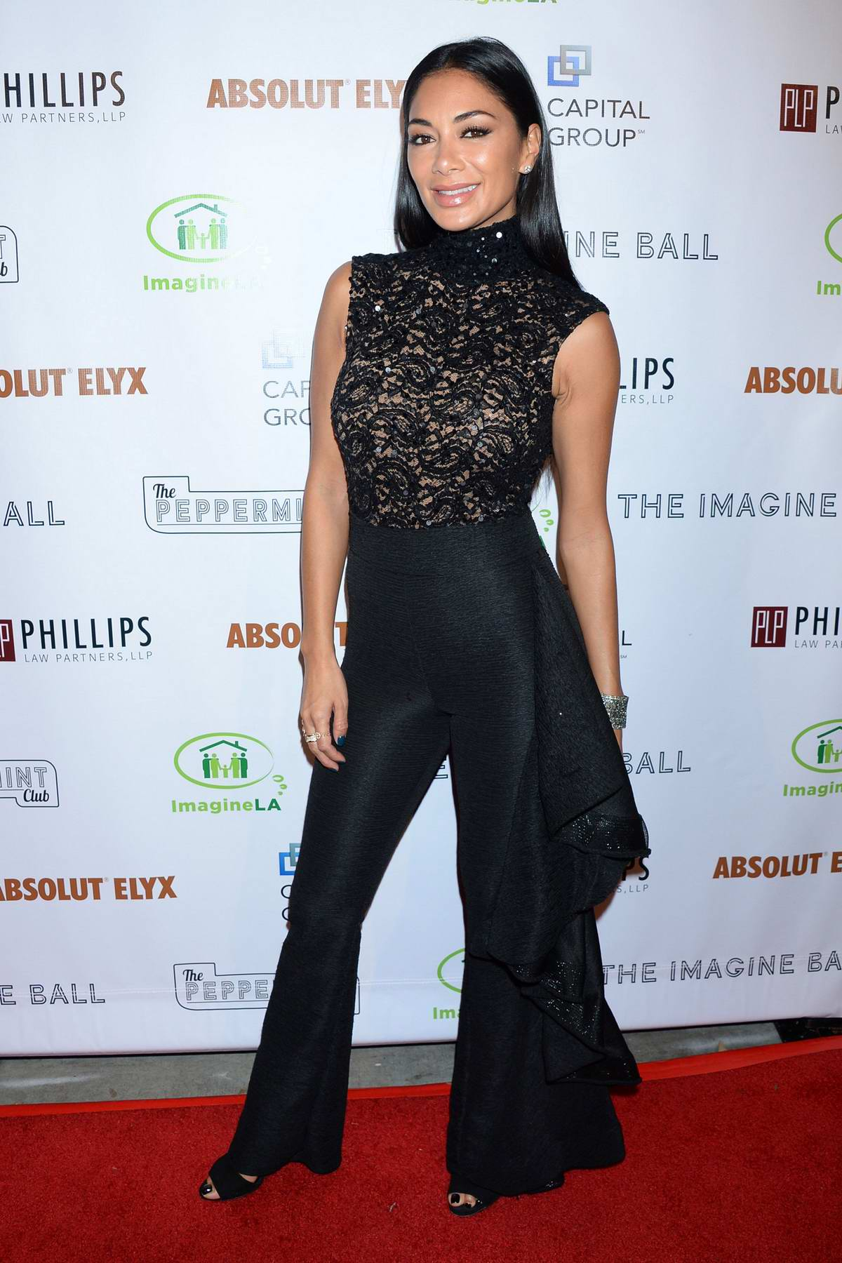 Nicole Scherzinger attends The 2018 Imagine Ball at Peppermint Club in Los Angeles