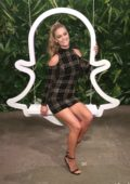 Nina Agdal at the Teen Vogue's Body Party Presented by Snapchat in New York City
