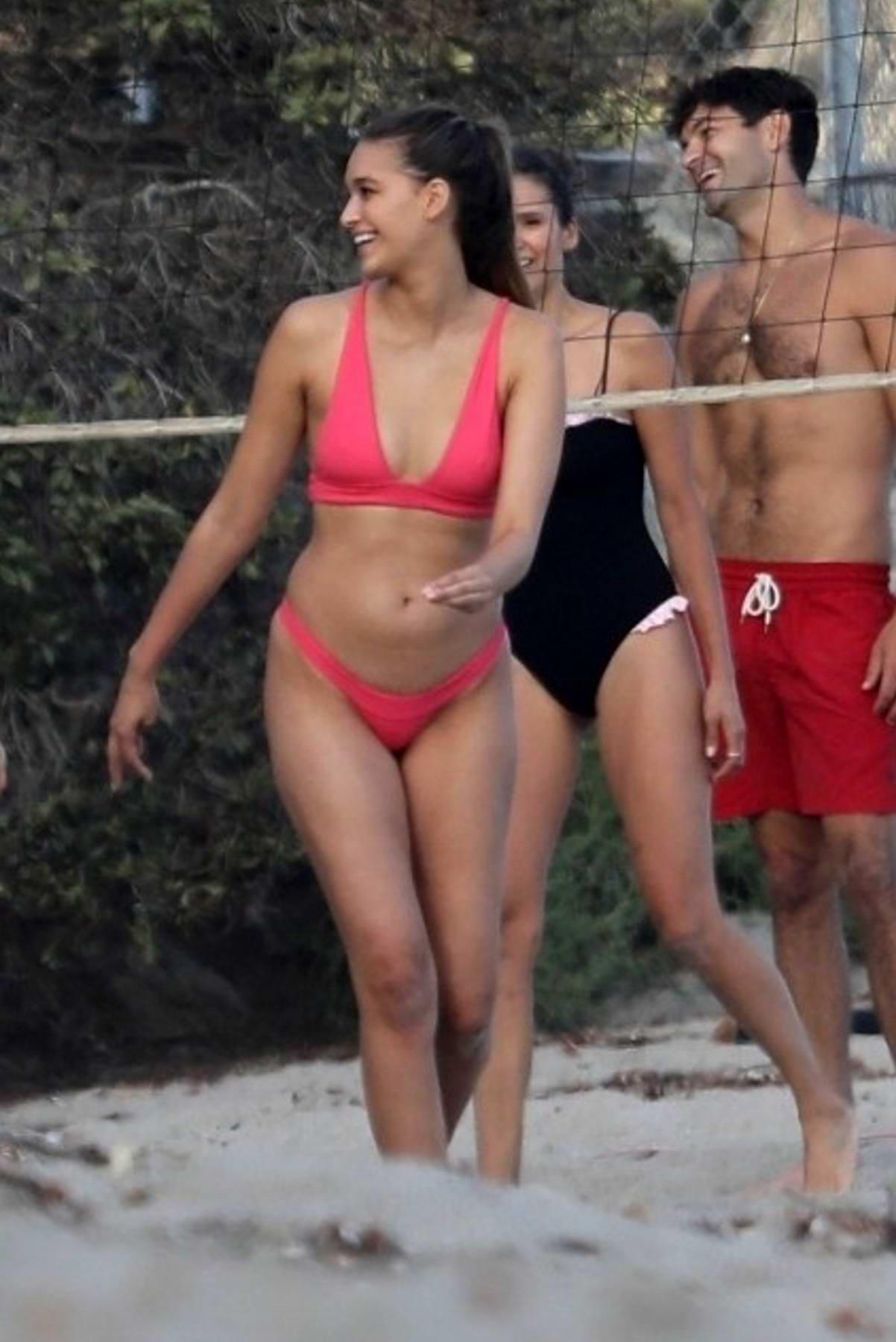 Nina Dobrev Looking Thick In A Bikini - 2019 year