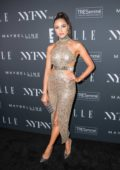 Olivia Culpo attends E!, Elle & IMG Celebrate The Kick-Off to NYFW: The Shows at The Pool in New York City