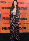 Olivia Munn attends 'The Predator' photocall at Villamagna Hotel in Madrid, Spain