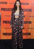 Olivia Munn attends 'The Predator' photocall at Villamagna Hotel in Madrid, Spain