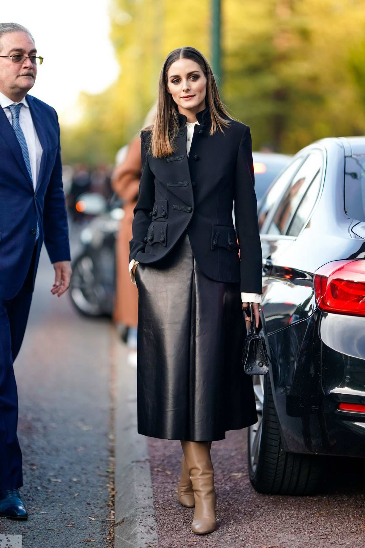 Olivia Palermo attending the Hermes Show during Paris Fashion Week in Paris, France