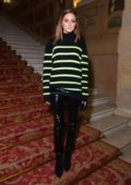 Olivia Palermo attends the Balmain Show during Paris Fashion Week in Paris, France