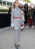 Olivia Palermo attends the Valentino Show during Paris Fashion Week in Paris, France
