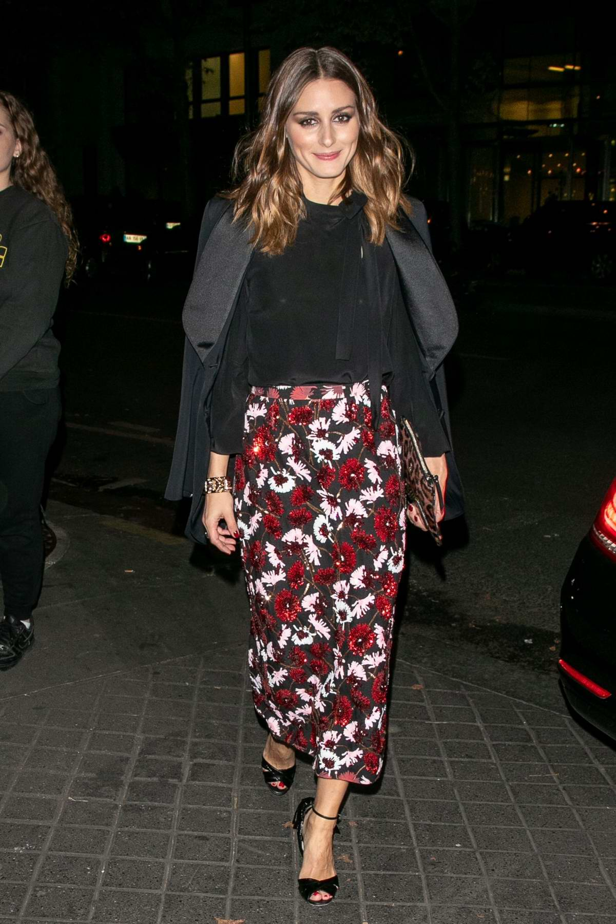 Olivia Palermo attends the Youtube Cocktail Party during Paris Fashion Week in Paris, France