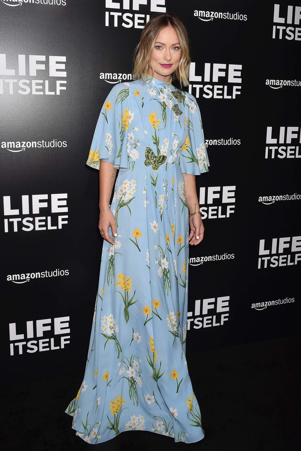Olivia Wilde attends 'Life Itself' film premiere held at the ArcLight Cinerama Dome in Los Angeles