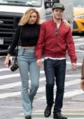 Peyton Roi List and boyfriend Cameron Monaghan spotted out in New York City