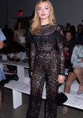 Peyton Roi List at the Naeem Khan SS19 Show during New York Fashion Week in New York City