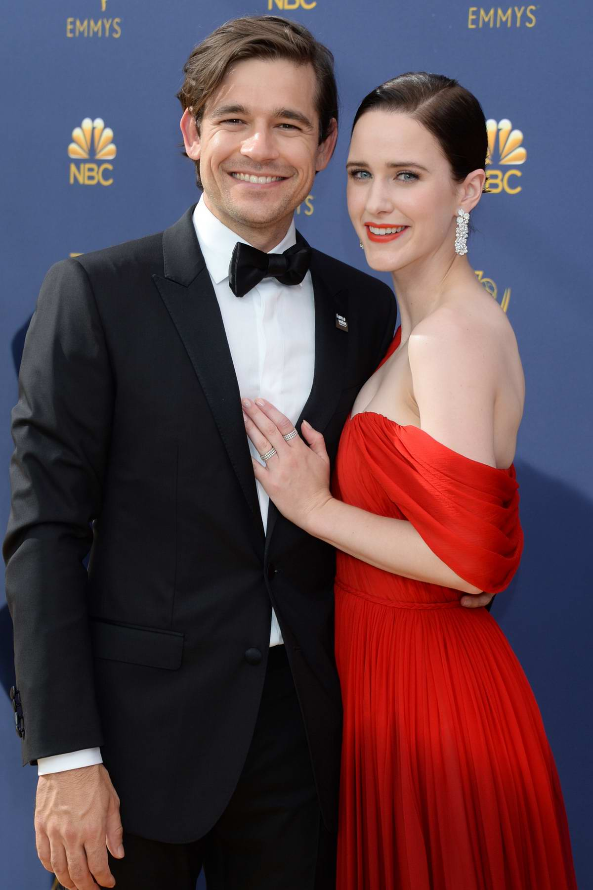 Rachel Brosnahan attends the 70th Primetime EMMY Awards (EMMYS 2018) at Microsoft Theater in Los Angeles