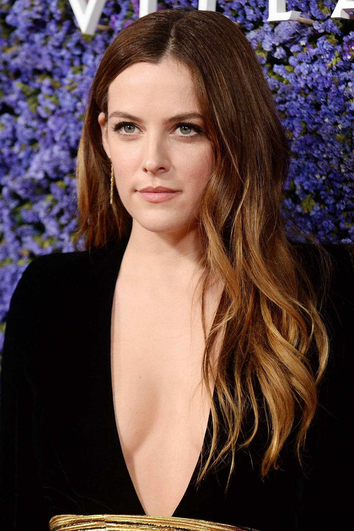 Riley Keough attends Caruso's Palisades Village Opening Gala at Palisades Village in Pacific Palisades, California