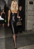 Rita Ora at the Versace after-party during Milan Fashion Week in Milan, Italy