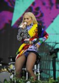 Rita Ora performing at BBC Radio 2 Live at Hyde Park in London, UK