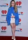 Sabrina Carpenter attends 2018 iHeartRadio Music Festival, Day 2 at T-Mobile Arena in Las Vegas, Nevada