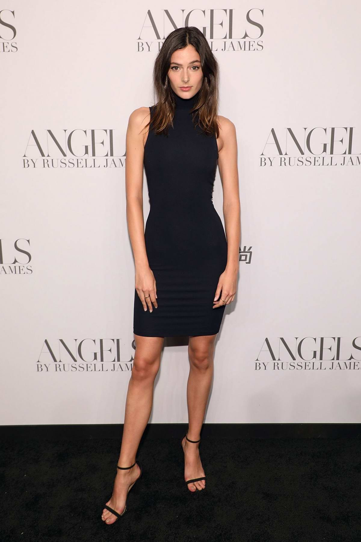 Sadie Newman attends 'ANGELS' by Russell James Book Launch And Exhibit in New York City