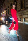 Sadie Newman attends Vanity Fair and Saks Fifth Avenue celebrate Vanity Fair's Best-Dressed 2018 at Manhatta in New York City