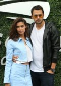 Sara Sampaio and Oliver Ripley at the 2018 US Open Tennis Men's Finals in New York