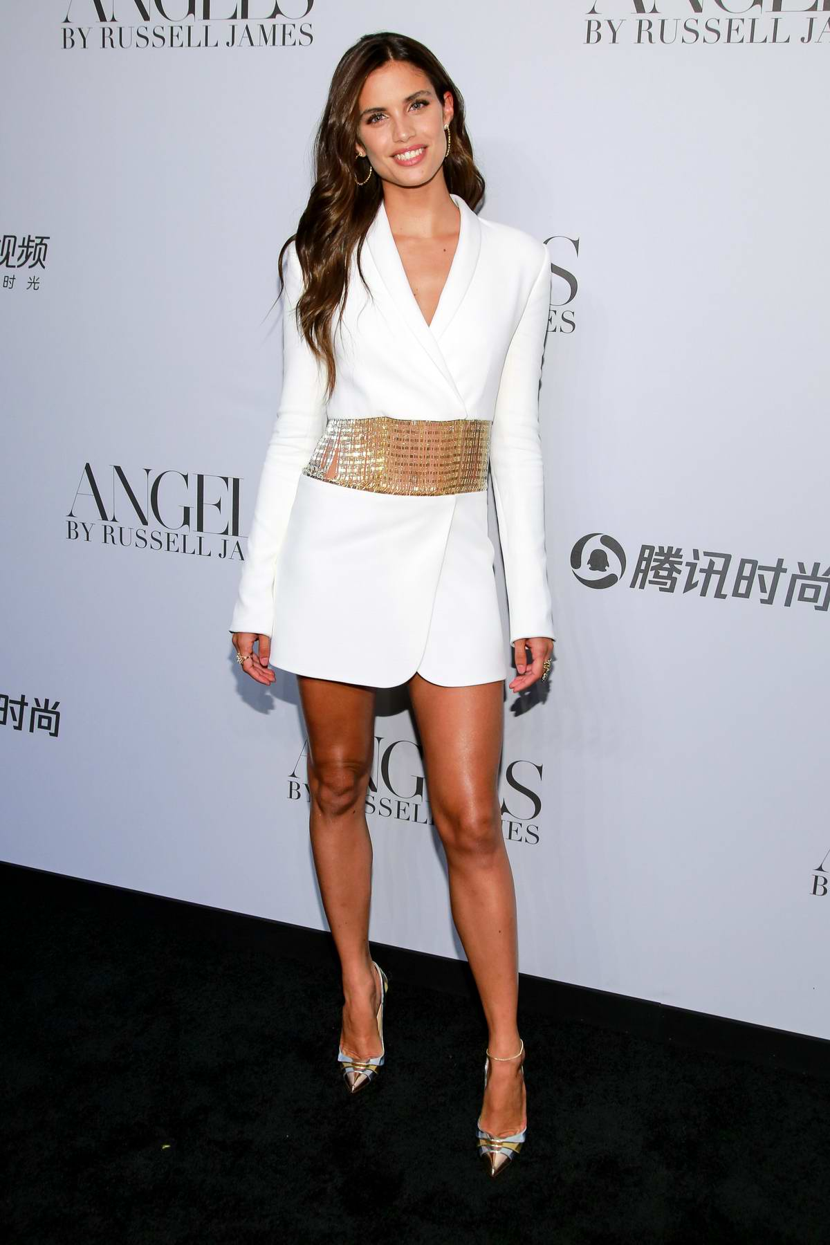 Sara Sampaio attends 'ANGELS' by Russell James Book Launch And Exhibit in New York City