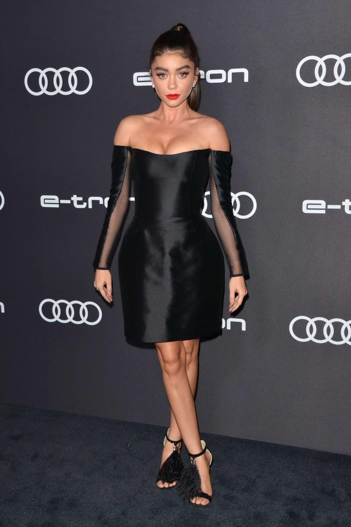 Sarah Hyland attends Audi Pre-Emmy Celebration in West Hollywood, Los Angeles