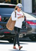 Sarah Hyland leaves a Cryotherapy session in Los Angeles