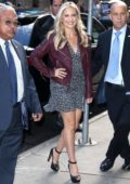 Sarah Michelle Gellar arrives at the 'Good Morning America' show in New York City