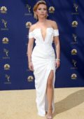Scarlett Johansson attends the 70th Primetime EMMY Awards (EMMYS 2018) at Microsoft Theater in Los Angeles