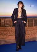 Shailene Woodley attending a photocall during the 44th Deauville American Film Festival in Deauville, France