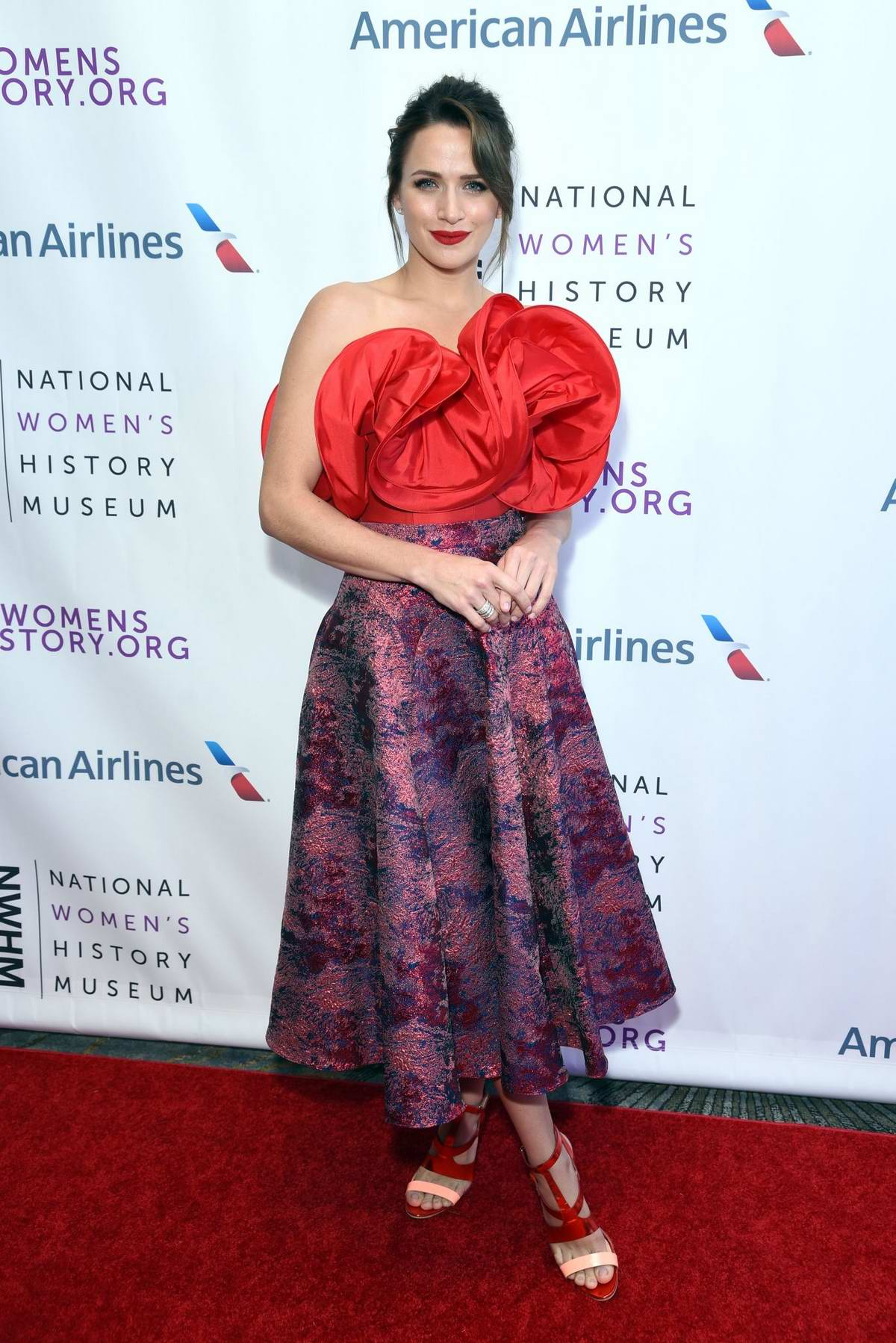 Shantel VanSanten attends 7th Annual Women Making History Awards in Beverly Hills, Los Angeles