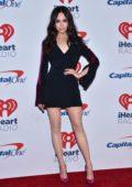 Sofia Carson attends 2018 iHeartRadio Music Festival, Day 2 at T-Mobile Arena in Las Vegas, Nevada