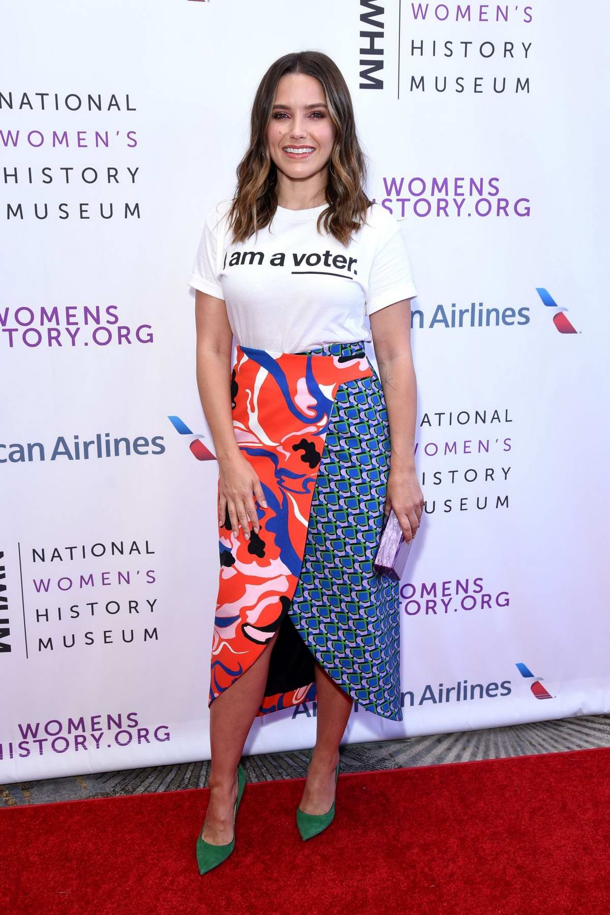 Sophia Bush attends 7th Annual Women Making History Awards in Beverly Hills, Los Angeles