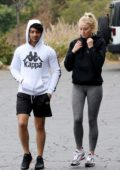 Sophie Turner and Joe Jonas heads to the gym in Los Angeles