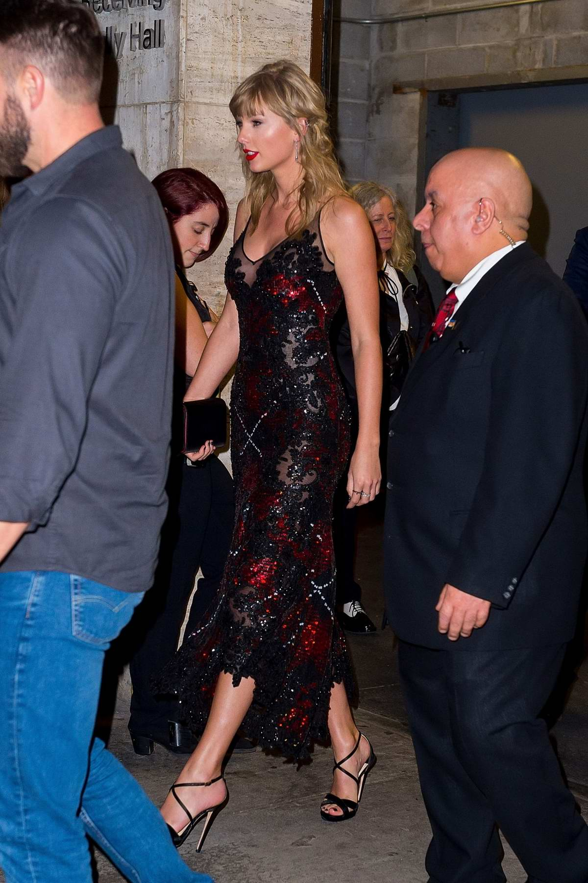 Taylor Swift seen while Lincoln Center after attending an event in New York City