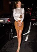 Toni Garrn attends 'ANGELS' by Russell James Book Launch And Exhibit in New York City