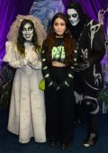 Vanessa Hudgens visits the Knott's Scary Farm in Los Angeles