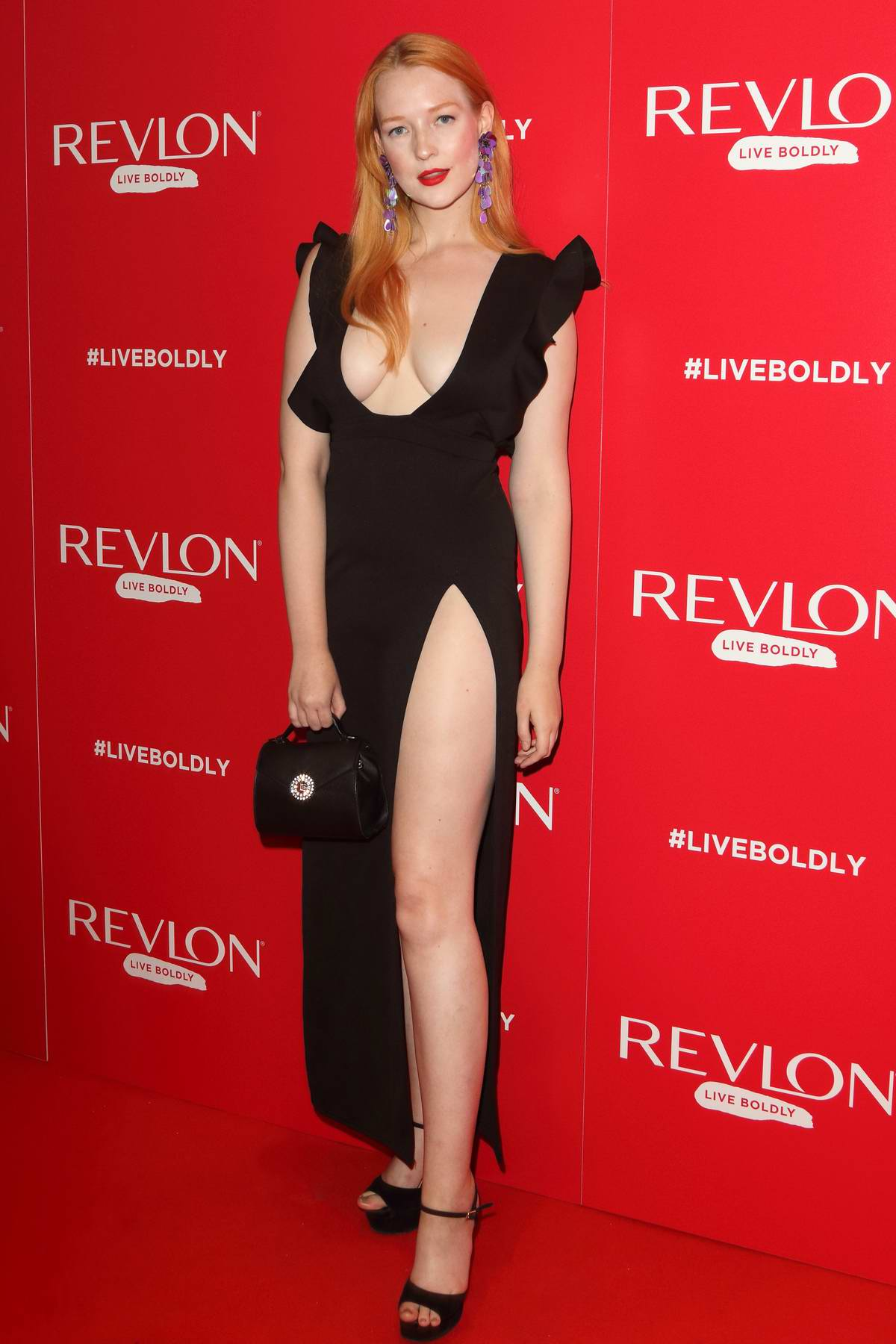 Victoria Clay attends Adwoa Aboah x Revlon - Live Boldly Party during London Fashion Week at Jack Solomons Club in London, UK