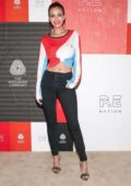 Victoria Justice attends P.E Nation x Woolmark Collaboration at Public in New York City