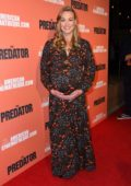 Yvonne Strahovski attends 'The Predator' screening at the Egyptian Theatre in Los Angeles