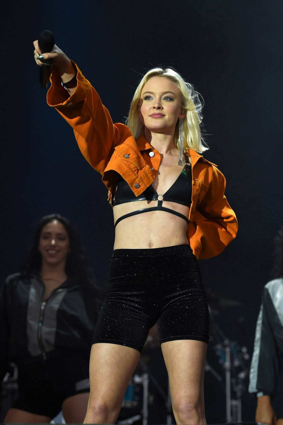 Zara Larsson performs onstage at Fusion Festival in Liverpool, UK