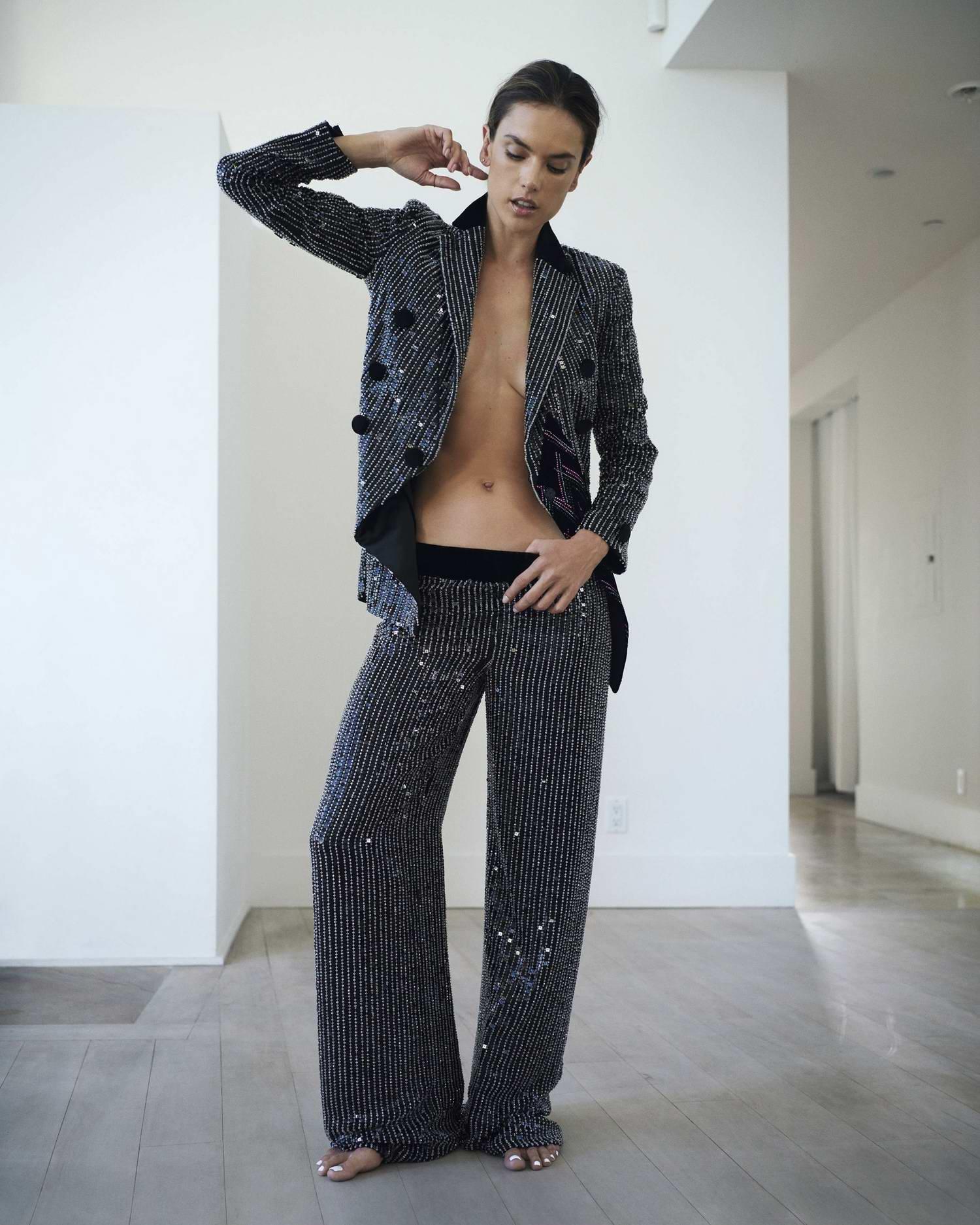 Alessandra Ambrosio features in Fashion & Arts Magazine - October 2018