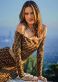 Alessandra Ambrosio features in InStyle Magazine, Russia - October 2018
