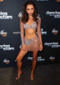 Alexis Ren poses at 'Dancing With The Stars' Season 27 at CBS Television City in Los Angeles