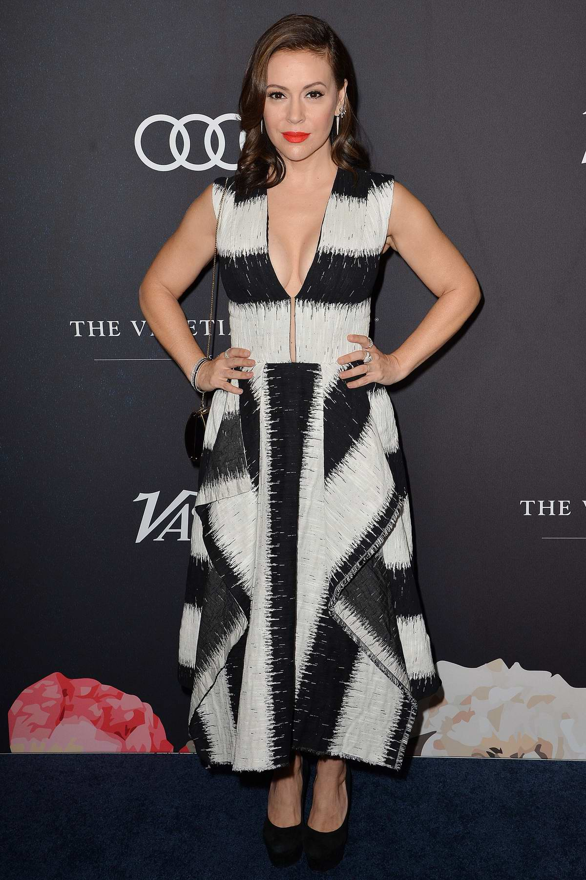 Alyssa Milano attends Variety's Power Of Women: Los Angeles in Beverly Hills, California