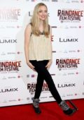 Amanda Seyfried attends the World Premiere of 'Holy Moses' during Raindance Film Festival in London, UK
